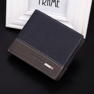 New Fashion High Quality Pu Leather Wallets For Men Latest New Style Thumbnail