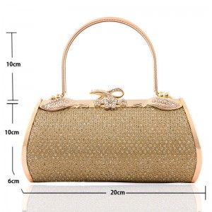 New Fashion Stewardness Women Evening Bags High Quality Clutches Handbags Bridesmaid Party Prom Clutches Thumbnail
