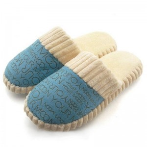 New Slipper Autumn Winter Cotton Padded Soft Bottom New Design For Women Thumbnail