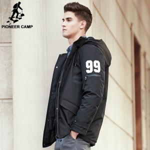 New thick winter down jacket men High End quality men warm duck down jacket windproof brand male down coat