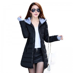 New Waded Parkas Jackets Full Slim Down For Women Stylish Design Thumbnail