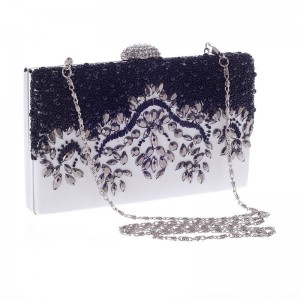 New Women Evening Bags Clutches Diamond Rhinestone Clutch Crystal Day Purse Wedding Party Prom Clutches Thumbnail
