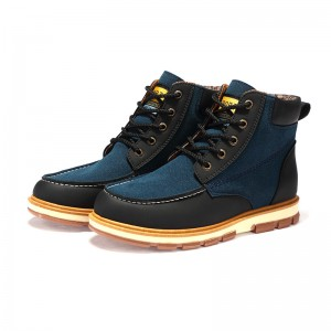Newest Men Winter Boots High Quality Leather Wear Resisting Casual Shoes Working Fashion Men Boots Plus Size Shoes