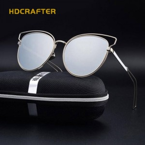Oversized Cat Eye Sunglasses Polarized UV400 Colourful Ladies Eyewear New Trending Fashion Shades For Ladies