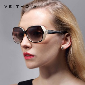 Oversized Retro Sunglasses Vintage Classy Carved Diamond Ladies Eyewear Accessories Polarized Large Goggles
