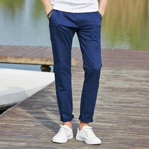Pioneer Camp Casual High Quality Summer Autumn Long Khaki Male Trousers Men Thumbnail