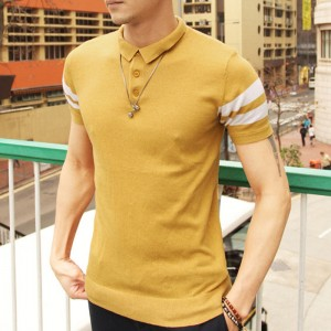Polo T Shirts For Men New Summer Style 2018 Collection Short Sleeved Slim Fit Tees Solid Casual Shirts For Males