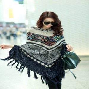 Pullover Cardigan Capes And Ponchos Spring Winter Sweater Cardigan Knitted For Women