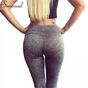 Push Pu Leggings For Women Sexy Slim Spring Fitness Leggings Pants Elastic Jeggings Heart Pattern Women Thumbnail