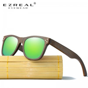 Real Wood Sunglasses Polarized Wooden Glasses UV400 Bamboo Sunglasses Brand Wooden Sun Glasses With Wood Case