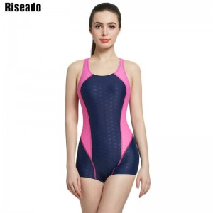 Riseado New Summer Sports Swimming One Piece Swimsuit Monokini Sexy Backless Swimsuit Bathing Suit Sports Thumbnail
