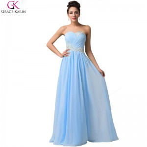 Robe De Soiree Long Evening Dresses Sleeveless Chiffon Formal Gowns Elegant Special Occasion Wedding Party Dresses