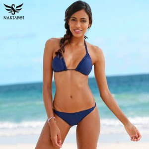 Sexy Two Piece Swimsuits Low Waisted Swimsuits Push Up Handmade Crochet New Summer Style Beach Suits