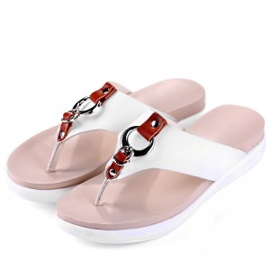 Slippers Platform Summer Flats Solid Flip Flops Beach Shoes Woman Creepers Slip On Women Shoes Size 35 40