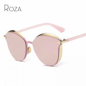 Steampunk Sunglasses Round Vintage Designer Shades UV400 Polarized Stylish Eyewear With Metal Nose Pads