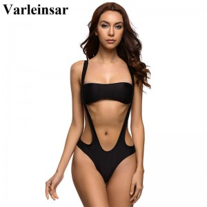 Swimwear Women High Cut One Piece Swimsuit Bathing Suit Top Bikini Brazilian Bathing Suit New Arrival Women Thumbnail