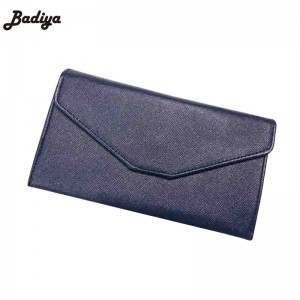 Top Grade Women Wallet Brief Long Clutch Leather Wallet High Capacity Money Purse Phone Wallet Thumbnail