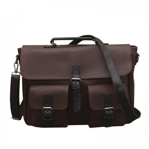 Vintage Men Messenger Bag Genuine Leather Casual Handbag Business Laptop Cross Body Shoulder Bags Retro Male Briefcase