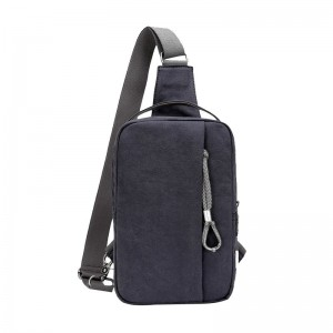 Vogue Brand Trending Canvas Shoulder Backpack Stylish School College Casual Sling Bag Multicolor Chest Bag