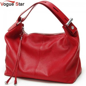 Vogue Star Fashion Genuine Leather Women Handbag Tote Bag Ladies Shoulder Bags New Arrival Thumbnail