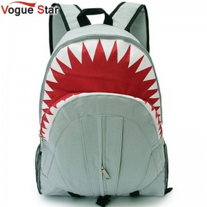 Vogue Star Hot Sale Children Fashion Shark Backpack Cute Travel Bags School Bags For Kids Thumbnail