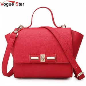 Vogue Star Women Handbags Lock Style Shoulder Bags Messenger Bags Crossbody Bags For Women Thumbnail