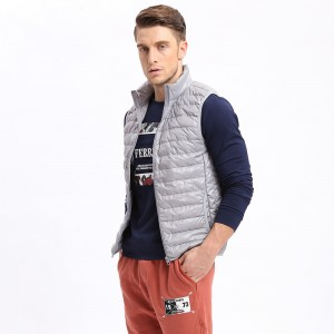 Vomint Brand New Mens Down Coat Vest Jacket Winter Light Down Vest Short Slim Down Men Vest Short Jackets
