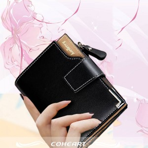 Wallet Women Genuine Leather Small Lady Purse Zipper For Ladies Thumbnail