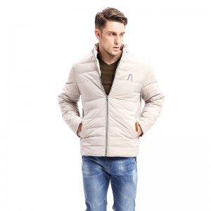 Winter New Men Business Fashion Parkas Smart Casual Jacket Zipper Button Bottom Design Thick Stand Collar Long Jackets