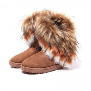 Woman Snow Boots Fur Botas Female High School New Design For Women Thumbnail