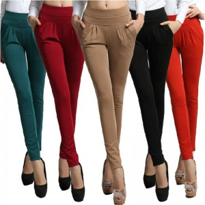 Women Autumn Winter Trousers Full Length Trousers Pocket Loose Casual Pants For Women Thumbnail