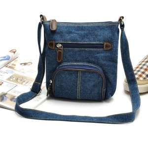 Women Messenger Bags Ladies Small Shoulder Bag Satchels Girls Crossbody Summer Sling Vintage Denim Bags