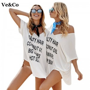 Women Swimsuit Cover Up Sexy Bathing Suit Cover Up New Summer V Neck Beach Suit For Women Beachwear Sexy Dress Thumbnail