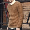 Autumn winter sweaters men pullovers brands slim Pullover Men V neck Casual turtleneck sweaters male Knitwear Pull