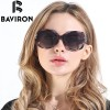 BAVIRON City Eye Tortoise Sunglasses Women Polarized Lenses Glasses Retro Sunglasses Style Gradient Colors Rays UV400 Extra Image 3
