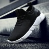 Black Casual Shoes For Men Light Breathable Cheap Lace Up Man Winter Warm Shoes With Fur Snow Boots Keep Warm Boots Extra Image 3