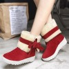 Classic Women Winter Boots Suede Ankle Snow Boots Female Warm Bow Knot High Quality Warm Ankle Boots Botas Mujer Extra Image 3