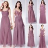 Ever Pretty Long Prom Dresses Pleated A Line Floor Length Women Elegant Sleeveless Banquet Party Dress