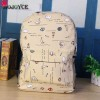 Fashion Printed Backpacks High Quality Small Pu Leather School Bags Mochila Cartoon Universe Space Print Preppy Bags Extra Image 4
