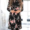 Floral Printed Summer Dress For Women Long Sleeve Boho Dress Round Neck Cute Shift Dress Summer Style Outfits Extra Image 2