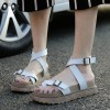Gladiator Sandals 2018 New Summer Flip Flops Platform Flats Shoes Woman Casual Creepers Vintage Women Shoes Extra Image 5