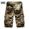 Good Quality Summer Men Camouflage Cargo Loose Shorts Military For Men Thumbnail