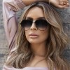 Gun Pink Sunglasses For Women Pilot Aviator Eyeglasses Top Fashion Silver Metal Women Sunglasses For Ladies Extra Image 3