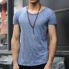 Hip Hop T Shirts Men Casual Short Sleeve T Shirt O Neck Cotton Mens Shirt Man High End Luxury Tees Brand Extra Image 5