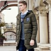 Long thicken winter down jacket men brand clothing warm duck down coat male top quality men down parkas coats for men Extra Image 1