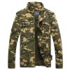 Men Camouflage Jackets New Arrival Spring  Autumn Straight High Quality Military Coats Plus Male Outwear Extra Image 4