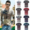 Men Summer Short Sleeve Hombre New Party Loosefit Casual T Shirts Men Thumbnail