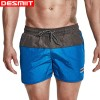 Men Swimming Shorts for Men Swim Trunks Sexy 2 Color Patchwork Beach Wear Shorts 2018 Summer Swimsuit Man Surf Extra Image 1