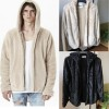 Mens Half Zipper Pullover Fleece Very Warm Hoodie Streetwear Hot Fashion Hip Hop Urban Clothing For Males