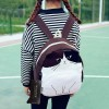 Mojoyce Cat Printed Backpack For Women Lovely Canvas School Bags For Teenagers Ladies Cute Rucksack Bookbag Extra Image 6